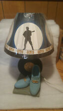 "Vintage Elvis Presley Blue Suede Shoes ""Two For The Show"" Lamp"