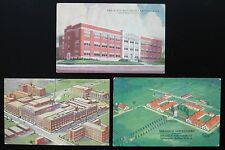 Vintage Postcard Lot ~ 3 Postcards ~ ELI LILLY Research Biological Laboratories