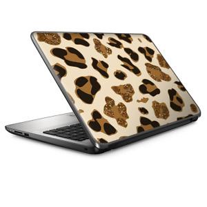 Laptop Skin Wrap Universal for 13 inch - Brown Leopard Skin Pattern