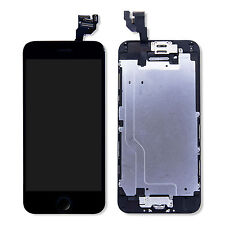 Complete LCD Touch Digitizer Screen Front Housing Assembly for iPhone 6 Black