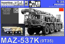 MAZ-537 Crane Army Truck conversion resin set 1/35 PanzerShop PS35280