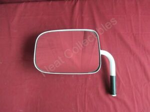 NOS OEM Chevy GMC Full Size Truck Jimmy Blazer White Mirror 1985 - 91 Left Hand