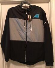 Carolina Panthers Nike Champ Drive Performance Full-Zip Hoodie Jacket 2XL NWT