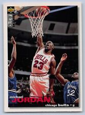 1995-96  MICHAEL JORDAN - UD Collector's Choice Basketball Card # 45 - BULLS