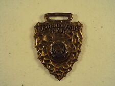 Schenectady N.Y. American Legion Antique Watch Fob / 1940 / Arrow Head