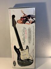 In Box Sanrio Hello Kitty Fender Black Limited Mini Stratocaster Electric Guitar