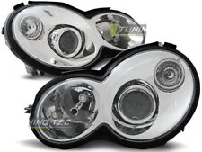 Scheinwerfer für Mercedes CL203 C-KLASSE 2000-2004 Chrom DE LPME61-ED XINO DE