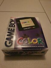 Nintendo Game Boy Color Handheld-Spielekonsole - Lila mit Ovp