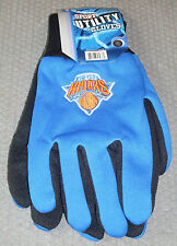 NBA NWT NO SLIP UTILITY WORK GLOVES- NEW YORK KNICKS