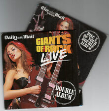 GIANTS OF ROCK LIVE - PROMO 2 CD SET: PAT BENATAR, CHICAGO, IGGY POP, YES, ELP