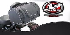 Mustang Sissy Bar Luggage Studded Bag fit any Motorcycle with Universal Rack