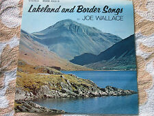 Joe Wallace Lakeland and Border Songs  MMM. 1002 S UK Vinyl LP Album