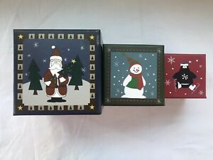 Nesting Boxes Christmas Unbranded - Set of 3
