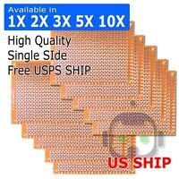 1/2/3/5/10 pcs Single Sided PCB Proto Perf Board Bakelite FR 5*7 5x7 cm USA Ship