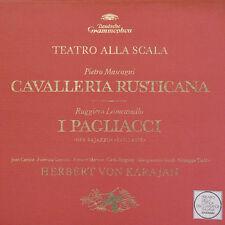 MASCAGNI LEONCAVALLO Cavalleria.. I Pagliacci KARAJAN D Gram 2709 020 3 LP