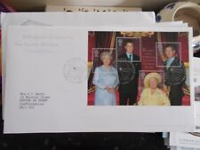 ROYAL MAIL FIRST DAY COVER - HM THE QUEEN MOTHER - CLARENCE HOUSE FRANK 3-2-1998