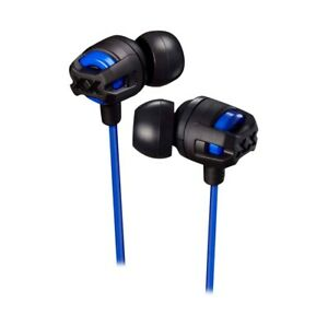 JVC HA-FX103 In-Ear Only Headphones Avail Multi Colors, Mic, Remote - NEW