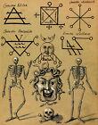 """Compendium Rarissimum: """"Sigils of Evil Spirits"""" (c.1792) — Giclee Fine Art Print"""