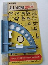"Rare Stanley All-N-One Measuring Tool No. 125 on Card Nos Modern ""Odd Jobs"""
