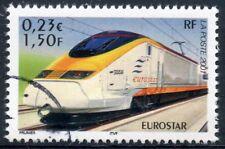 STAMP / TIMBRE FRANCE OBLITERE N° 3405 CHEMIN DE FER / TRAIN / EUROSTAR