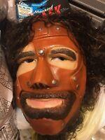 wwf mankind mask cesar 1997 wwe original new cactus jack mick foley mr socko