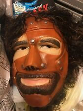 WWF Mankind Mask cesar 1997 WWE Original NEW Cactus Jack MICK FOLEY Halloween