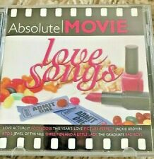 Absolute movies Love Songs new CD