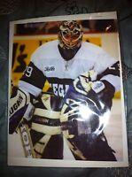 Louisiana Ice Gators MIKE VALLEY GOALIE PHOTO CARD 8x10  echl sphl VINTAGE RARE