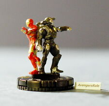 Marvel Heroclix Invincible Iron Man 043 Iron Man and War Machine Super Rare