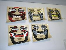 New NO FEAR Stratos Chest Protector Replacement Stickers Decals Graphics Set 5