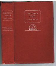 Dragon's Teeth by Upton Sinclair.  1942.  1st Ed. Rare Vintage Book! $