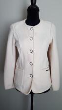 Geiger Womens Jacket Blazer Boiled Wool Thin Sz 4 EU 34 NWT $428
