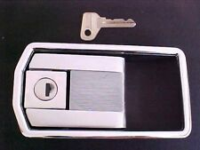 Ferrari 308 Exterior Door Lock Handle_Key_Cromodora_GT4_Dino_Left Side NEW_OEM