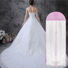 Bridal Wedding Dress Gown Garment Dustproof Storage Bag Evening Protector Bag