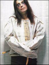 Black Sabbath Ozzy Osbourne in a strait-jacket vintage 8 x 11 pin-up photo print