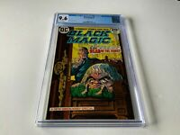 BLACK MAGIC 1 CGC 9.6 WHITE PAGES HEAD OF THE FAMILY DC COMICS 1973