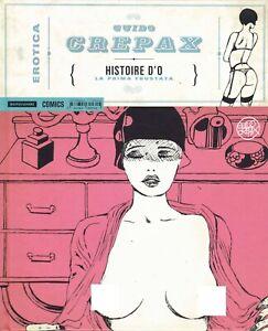 CREPAX : collana EROTICA n°  5 - Histoire d'o - ed. Mondadori SCONTO 50%