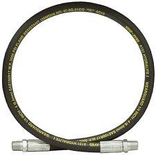 "1/4"" x 48"" 1/4 NPTM x 1/4 NPTM SAE 100R17 Hydraulic Hose 3000 PSI  916-1448"