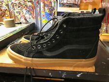 Vans Sk8-Hi MTE Black Gum Suede Size US 10 Men New No Box Lid