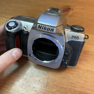 Nikon F65 Body Film Camera For Parts Not Working