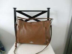 Genuine Tan Coach Leather Bag in Excellent Condition