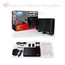 CASE ESTERNO 3,5 SATA/IDE PER HARD DISK USB 2.0 BOX ALLUMINIO VULTECH GS35IS