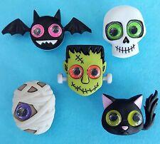 Jeepers Peepers CAT Pipistrello Teschio Mummia Halloween Mostro dress It Up Bottoni Craft
