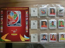 Panini World Cup Women 2015 * juego completo en blanco álbum ** Loose set Empty álbum
