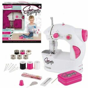 Sew Amazing Sew Station Complete Textile Sewing Machine Set For Kids
