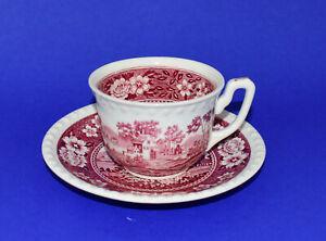 Villeroy & Boch Rusticana rot Kaffeetasse mit Untertasse 2 tlg