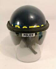 Genuine British Police Complete Anti Riot Protective Helm with Face Shield 58