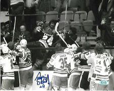 Terry O'Reilly Boston Bruins Autographed 8x10 Fight in Stands