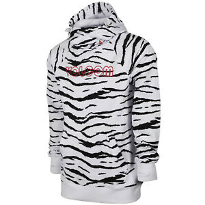 VOLCOM Mens 2021 Snowboard Snow HYDRO RIDING HOODIE White Tiger
