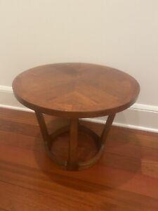 Lane Rhythm Drum Side End Table Round 997-18 Mid Century Modern Adrian Pearsall
